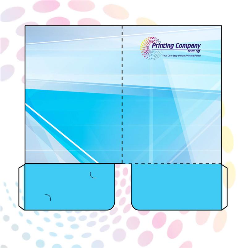 Presentation Folder with 2 Pockets