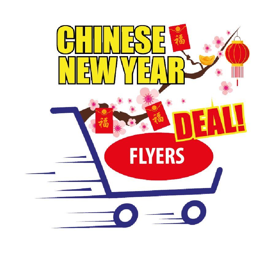 Chinese New Year Flyer Promo