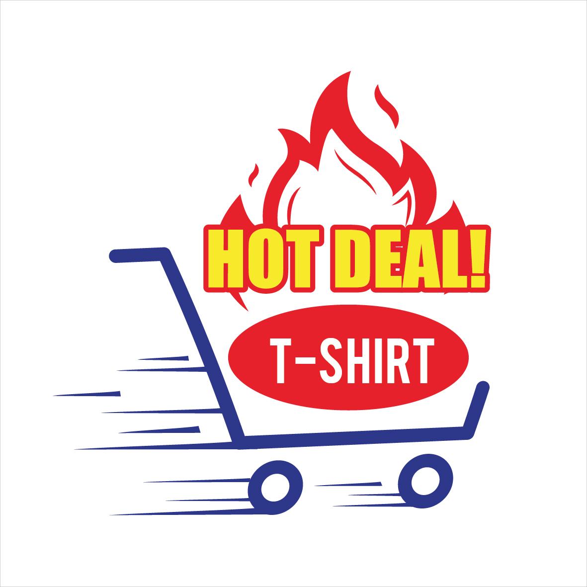 Couple T shirt A4 size (Male & Female)