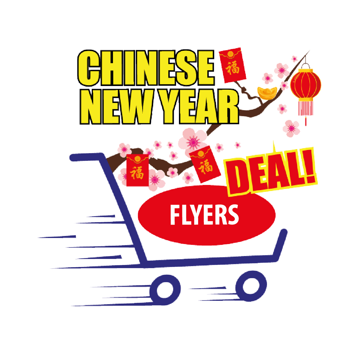 Chinese New Year Flyers Promotion
