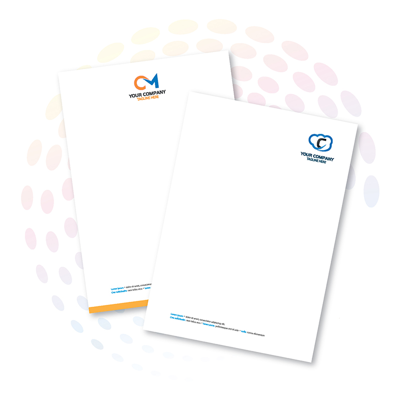 Offset Letterhead - Process Colour (CMYK)